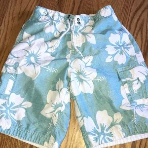Other - Great condition sea foam green swim trunks. YL